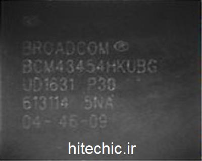 آی سی وای فای و بلوتوث BCM43454HK