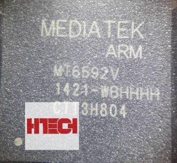 سی پی یو MT6592V-w شماره فنی: MT6592V-w کارخانه سازنده:MediaTek وضعیت آی سی: Original نوع آی سی:CPU بخش Application و Baseband استفاده شده در برند های:
